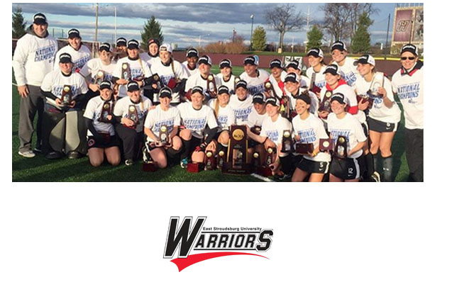 East Stroudsburg University National Champions 2015