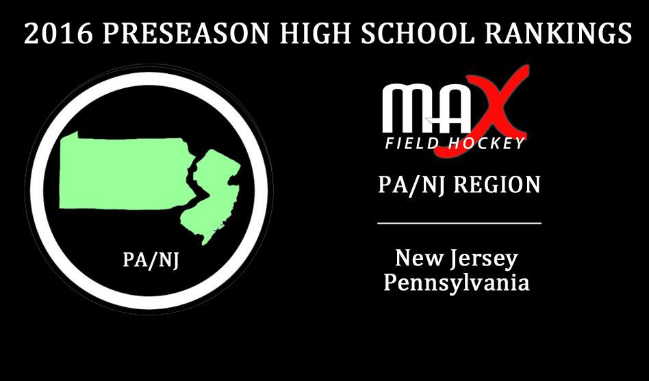 2016 High School Preseason Rankings – PA/NJ Region