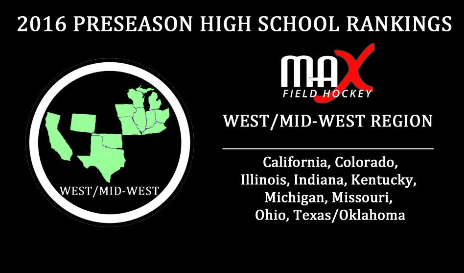 2016 High School Preseason Rankings – West/MidWest Region