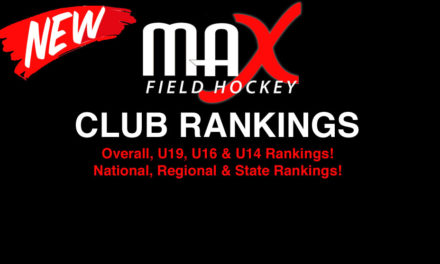 ALL NEW: MAX Field Hockey Club Rankings