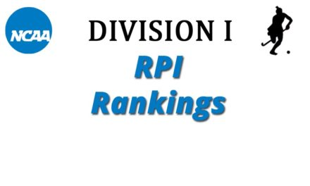 Sept-26: NCAA Division I RPI Rankings