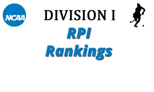 Oct-10: NCAA Division I RPI Rankings