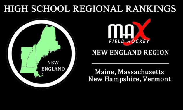 2017 Week #2 Rankings – New England Region