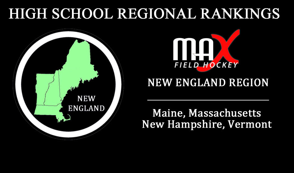 Week #8 Rankings – New England Region