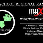 Week #8 Rankings – West/Mid-West Region