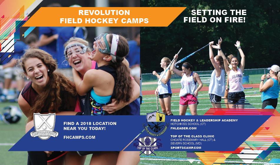 2018 Revolution Field Hockey Camps