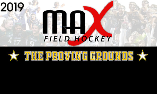MAX Field Hockey National High School Tournament Scheduled for 2019