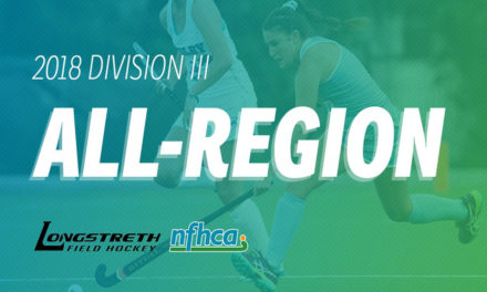 NFHCA announces 2018 Longstreth/NFHCA Division III All-Region teams