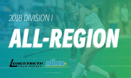 NFHCA announces 2018 Longstreth/NFHCA Division I All-Region teams