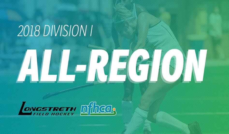 NFHCA announces 2018 Longstreth/NFHCA Division I All-Region teams