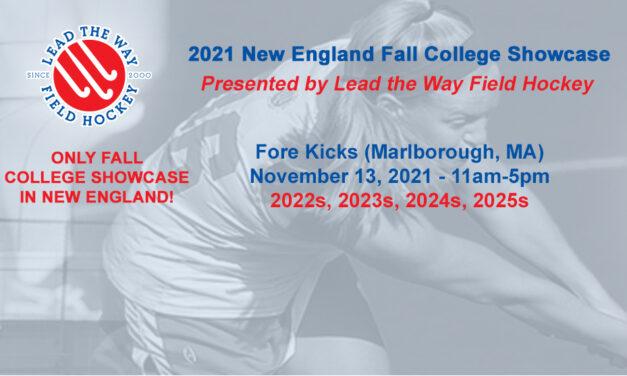 New England Fall College Showcase
